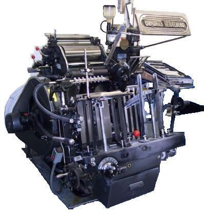 Original Heidelberg Cylindet GT10x15